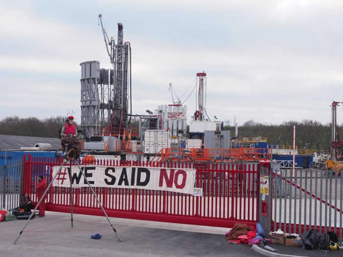 Spiritual fracking